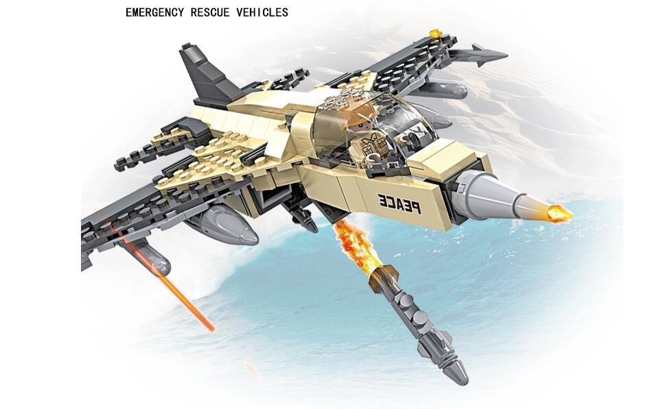 Military Plane Emergency Rescue Vehicle Lego Plane Boys Building