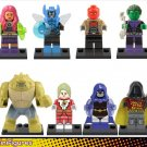 Teen Titans minifigures DC Superhero Movie Lego Compatible Toys