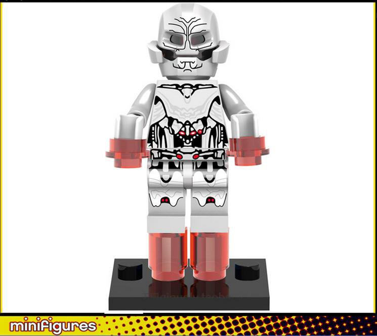 The Avengers 2 Ultron minifigures Lego Compatible Toys
