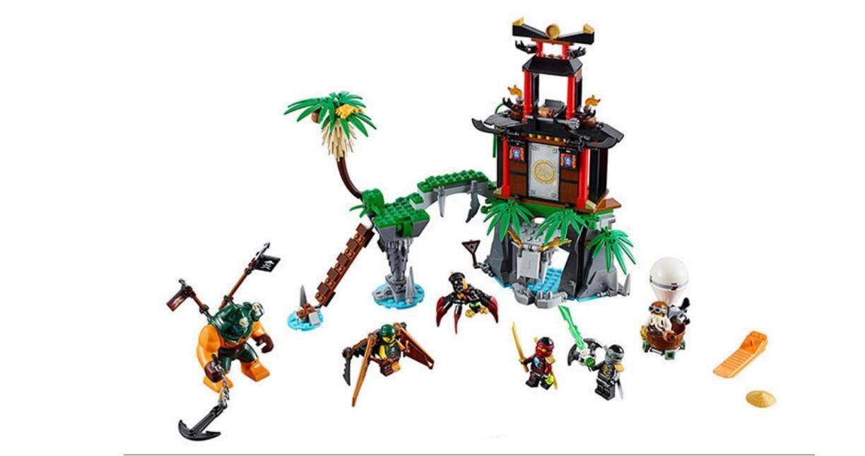 Ninjago Phantom Tiger Widow Island Thunder Swordsman Lego Ninjago Season 7 Compatible Toys
