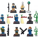 Indiana Jones Raiders Of the Lost Ark sets minifigures Lego 7622 Compatible Toys
