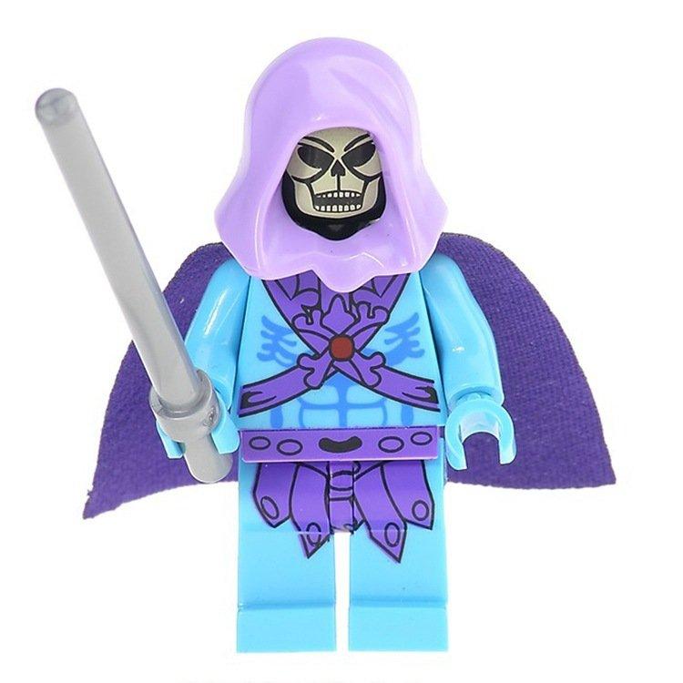 Human skeleton minifigures Superhero movie sets Lego Compatible Toys