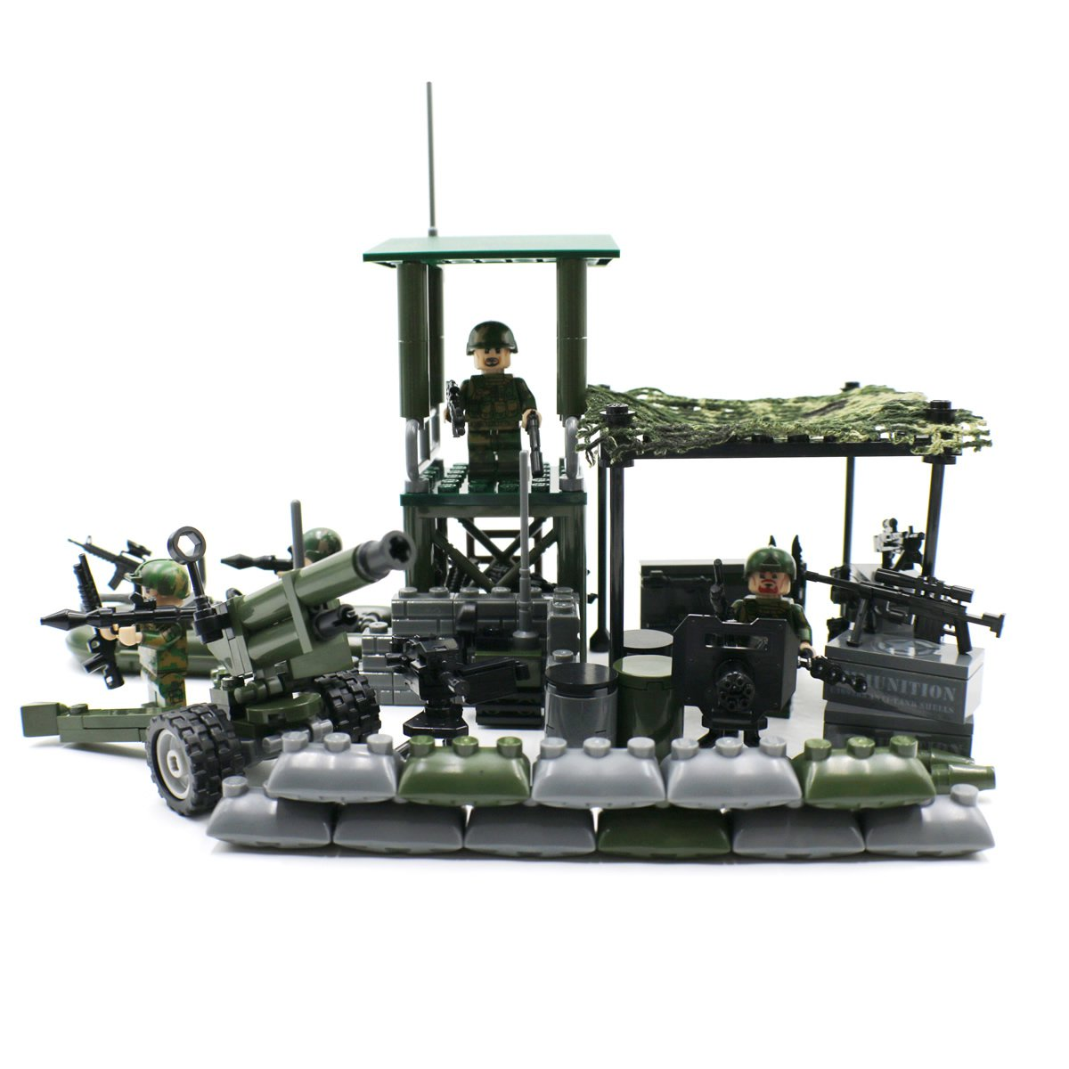 Military Set Army Jungle Outpost with Soldiers Lego ...