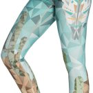 Cacti Quick Drying Digital Print Womens Leggings Brids Yoga Pants