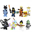Ninjago Movie sets Wu Dashi Gamma Nia minifigures Lego Compatible Toy