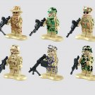 Military sets SWAT Special soldier Lego Compatible Toy