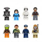 Star Wars Lego game Compatible Toys Bobba Fett,Clone Trooper,Imperial Judge Minifigures