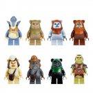 Star Wars Ewok Village minifigures Lego 10236 Compatible Toys