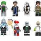 DC Super Hero Villain set minifigures Joker,Captain Boomerang,Silver Banshee Lego Compatible