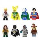 Superhero sets Lokey Superman Batman minifigures Lego Compatible Toys