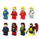 Marvel Superhero set Havok,Human Torch,Mandarin,Ms. Marvel Minifigures Lego Compatible Toys