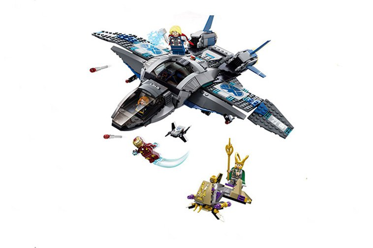 The Avengers 1 Marvel Superheroes minifigures (76032) Lego Compatible Toys