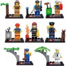 City Minifigures Worker Sailor Policeman SWAT Lego City Minifigure Collection Compatible Toys