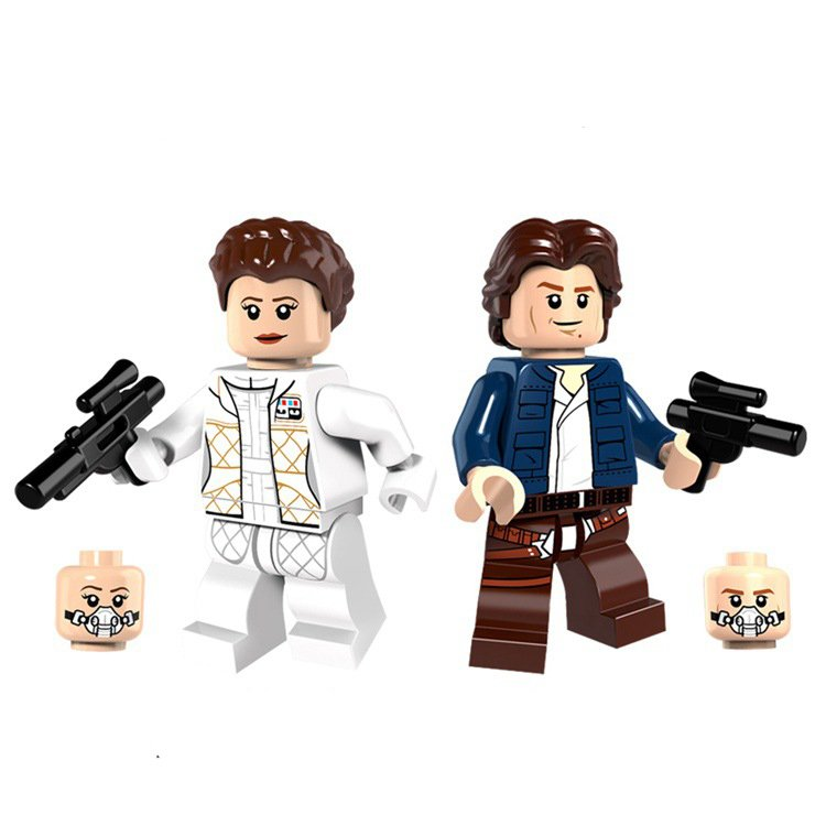 Star Wars sets Leia Organa Solo Minifigures Lego Compatible Toy