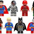 Justice League Batman,Superman,Wonder Woman Minifigures Lego Compatible Toys,Marvel Superhero Sets