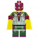 Scarlet Witch Vision Minifigures The Avengers Lego Compatible Toys,Marvel Superhero Sets