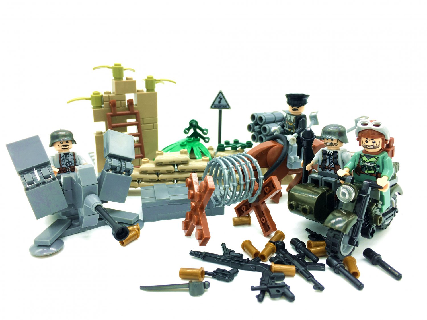 Military Sets German army Battle of the BulgeLego Compatible Toy