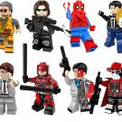 Minifigures Lego Compatible Toy, Superhero sets Daredevil,Winter Soldier minifigure
