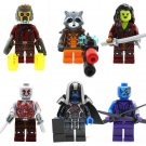 Guardians of the Galaxy Lego Compatible, Star-Lord Gamora Minifigures