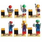 Super Mario Bros minifigures Lego Compatible Toys