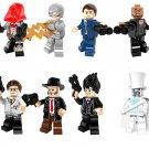 DC Superhero series minifigures Lego Compatible Toy,Reverse-Flash Transparent man minifigure