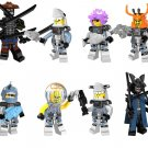 Ninjago Sets minifigures Lego Compatible Toy,Masters of Spinjitzu Seaso