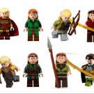 The Hobbit Elf The Lord of the Rings sets Minifigures Lego Compatible Toy