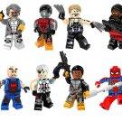 Marvel Superhero Set Villain Minifigures Lego Compatible Toy,colossus,Electric cable