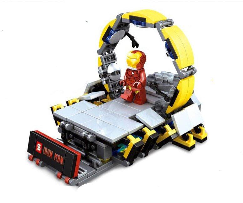 Iron Man Ring dismantling platform Lego Compatible Toy,Marvel The Avengers sets