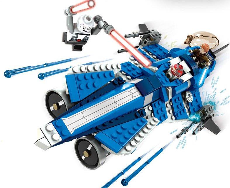 Star Wars set Anakin Jedi starfighter Lego Compatible Toy,Star Wars minifigures