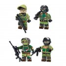 Military sets Lego Compatible Toy,Russian Soldiers minifigure
