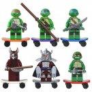 Ninja Turtles series Lego Compatible Toy,Michelangelo Donatello minifigure