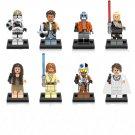 Star Wars sets Lego Compatible Toy,Clone Trooper Cunner Zander minifigure