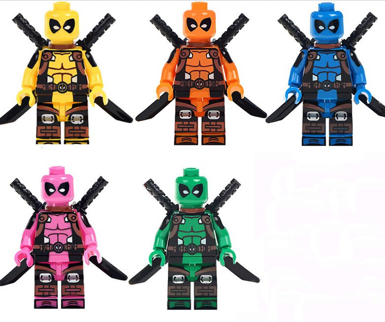 Lego Deadpool Set Instructions