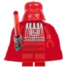Star Wars set Red Darth Vader Minifigures Lego Compatible Toy