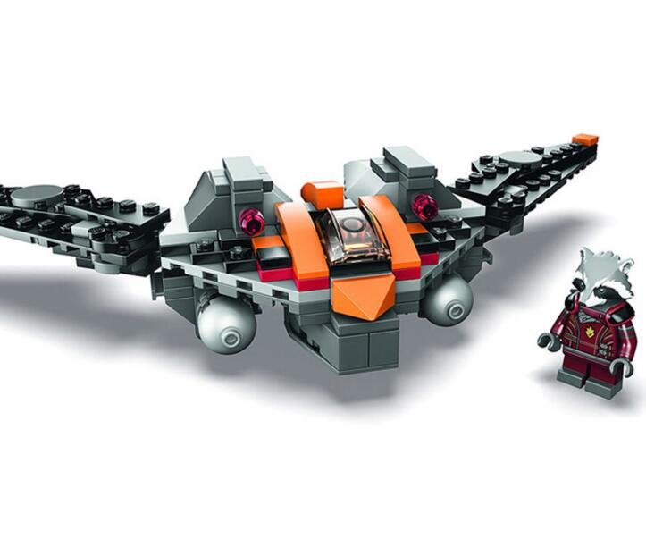 Guardians of the Galaxy Rocket Raccoon fighter Minifigures Lego Compatible Toy