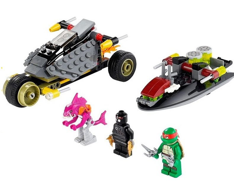 Ninja turtle Stealth Shell in Pursuit Lego 79102 Compatible Toy�Ninja sets