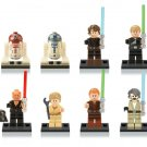Star Wars sets Jedi Knight minifigures Lego Compatible Toy