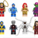 Superhero sets Lego Compatible Toy ,Wonder Woman Giganta Green Goblin minifigures