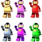 Astronaut series minifigures electroplating Lego Compatible Toys