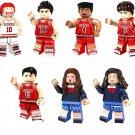 SlamDunk minifigures Caricature sets Lego Compatible Toys