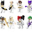 Batman Movie clown Catwoman Batman minifigures Lego Compatible Toys