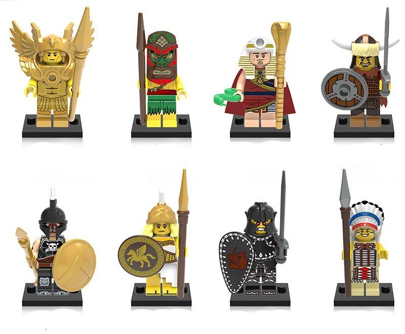 Greece myth Athena Saint Seiya Minifigures Lego Compatible Toy