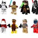 Star Wars The Last Jedi Sets minifigures Lego Compatible Toys