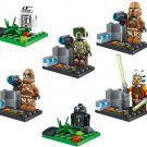 The Last Jedi Star Wars series minifigures Lego Compatible Toys