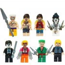 Cartoon series One Piece Minifigures Lego Compatible Toys