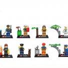 City sets police marine fireman minifigures Lego Compatible Toys