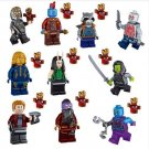 Star-Lord Yondu Rocket Racoon minifigures Lego Compatible Toys Guardians of the Galaxy II