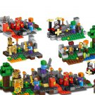 Minecraft Zombie Steve minifigures Lego Compatible Toy