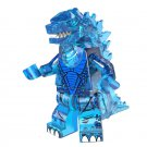 Blue Godzilla Movie set minifigures Lego Compatible Toy